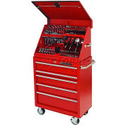 "Extreme Tools 30"" Extreme Portable Workstation® & Roller Cabinet Combo in Red"