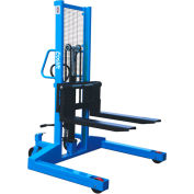 """Eoslift H10J Manual Straddle Stacker 2200 Lb. Capacity Lifting Height 62"""""""