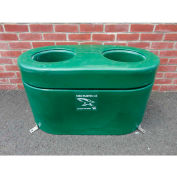 """Lapp Energy-Free Waterer With Urethane Insulation Double Hole 19"""" W x 19"""" H x 35""""L, 14 Gal. Capacity"""
