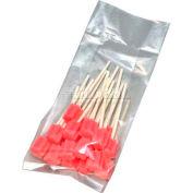"Gusset 2 Mil Clear LDPE Poly Bags 28""W x 24""D x 60""L, Pkg Qty 100"