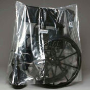"""Clear Assembled Walker / Commode Cover - On Roll 24""""W x 48""""L, Pkg Qty 250"""