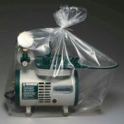 """Clear Suction Machine Cover On Roll 20""""W x 35""""L, Pkg Qty 500"""