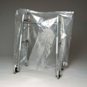 """Blue Tint Bags and Covers on Roll, 1.5 mil, 26"""" x 36"""", Pkg Qty 150"""