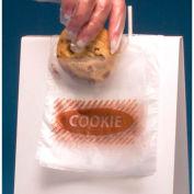 Flip-Top Closure - Printed 1 Color ('Cookie') - Hdpe 5.5 x 5.5 6 Mil, Pkg Qty 2,000