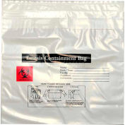 "Emesis Containment Bag, 2.4 mil, 10-1/4"" x 10-1/4"", Pkg Qty 1000"