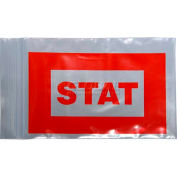 "Red ""Stat"" Bags 4""W x 8""L, Pkg Qty 1,000"