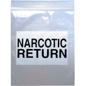 "Narcotic Return Bag 6-1/2""W x 8""L, Pkg Qty 1,000"