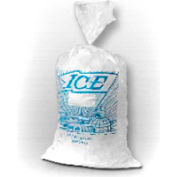 Metalocene Ice Bag Printed On Wicket Dispenser 20 x 11 1.5 Mil, Pkg Qty 1,000