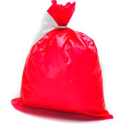 "High-Density Red Dressing Disposal Bags, 1 mil, 4"" W x 30""L, 1000 Per Case"