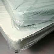 """Clear Standard Twin Mattress Bag 39""""W x 8""""D x 90""""L, Pkg Qty 100"""
