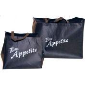 Non-Woven Polypropylene Bag, Take Out, Full Steam Pan&Sheet Cake 15.25 x 22 80 GSM Mil, Pkg Qty 50