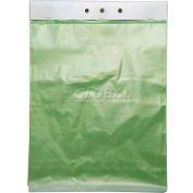 """Green-Tinted Gas Sterilization Bag 12""""W x 15""""L, Pkg Qty 1,000"""