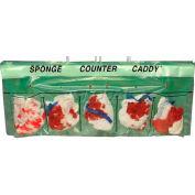 "Sponge Counter Caddy 25-1/2""W x 6""L, 4"" Lip, Pkg Qty 250"