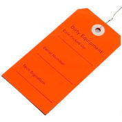"Dirty Equipment Tag (Red) 2-5/16""W x 4-3/4""L, Pkg Qty 500"