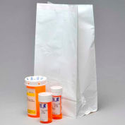 "White Pharmacy Bag, 1.5 mil, 7"" x 4"" x 14"", Pkg Qty 1000"