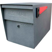 Mail Boss Locking Security Curbside Mailbox Granite