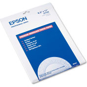 "Epson® Premium Photo Paper S041331, 8-1/2"" x 11"", White, 20/Pack"