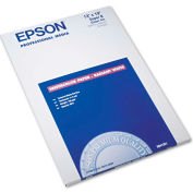 "Epson® Watercolor Radiant White Inkjet Paper S041351, 13"" x 19"", White, 20/Pack"