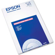 "Epson® Ultra Premium Photo Paper S041407, 13"" x 19"", White, 50/Pack"