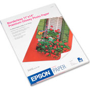 "Epson® Premium Photo Paper S041466, 11"" x 14"", Bright White, 20/Pack"