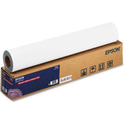 "Epson® Enhanced Adhesive Synthetic Paper S041617, 24"" x 100', White, 1 Roll"