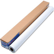 "Epson® Enhanced Adhesive Synthetic Paper S041619, 44"" x 100', White, 1 Roll"