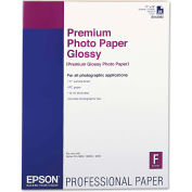"Epson® Premium Photo Paper S042092, 17"" x 22"", White, 25/Pack"