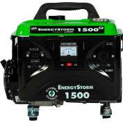 Lifan Power USA ES1500-CA, 1200 Watts, Portable Generator, Gasoline, Recoil Start, 120V