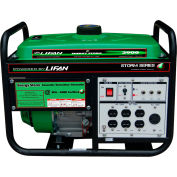 Lifan Power USA ES3900, 3000 Watts, Portable Generator, Gasoline, Recoil Start, 120V