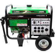 Lifan Power USA ES3900E, 3000 Watts, Portable Generator, Gasoline, Electric/Recoil Start, 120V