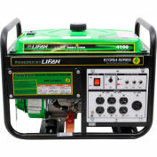 Lifan Power USA ES4100, 3500 Watts, Portable Generator, Gasoline, Recoil Start, 120V