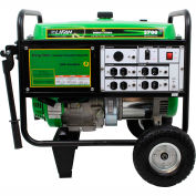 Lifan Power USA ES5700-CA, 5000 Watts, Portable Generator, Gasoline, Recoil Start, 120V