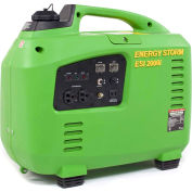 Lifan Power USA ESI2000i-CA, 1800 Watts, Inverter Generator, Gasoline, Recoil Start, 120V