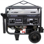 Lifan Power USA LF4250EPL-CA, 3500 Watts, Portable Generator,Gasoline,Electric/Recoil Start,120/240V
