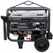 Lifan Power USA LF4250EPL, 3500 Watts, Portable Generator, Gasoline, Electric/Recoil Start, 120/240V