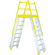 """Equipto 1524X04 Ship Cross Over, 29"""" Overall Width, 4 Stairs"""