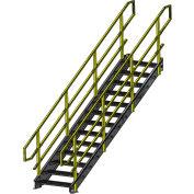 "Equipto 1536IBC5 IBC Stairway, 36"" Width, 5 Stairs"