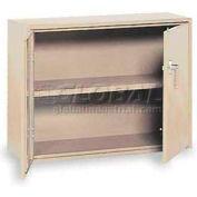 """Equipto Handy Cabinet, 36""""W x 13""""D x 27""""H, Textured Putty"""