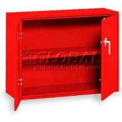 "Equipto Handy Cabinet, 36""W x 13""D x 27""H, Textured Cherry Red"