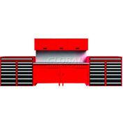 Tech Bench Reel-type 3' Single, Red
