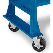 Equipto® Workbench Caster Kit 2203-BL, 1200 Lbs. Per Set Of 2, Regal Blue