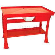 Tear Down Bench 30x48x29-1/2, Red