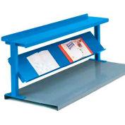 "Equipto® Production Booster 452T60-BL, 60""W X 24""H, 2 Shelves, Regal Blue"