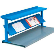 "Equipto® Production Booster 452T72-BL, 72""W X 24""H, 2 Shelves, Regal Blue"