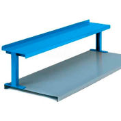 "Equipto® Production Booster 454T48-BL, 48""W X 14""H, 1 Shelf, Regal Blue"