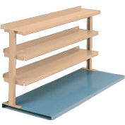 "Equipto® Production Booster 463T72-PY, 72""W X 36""H, 3 Shelves, Putty"