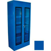 Equipto Additional Shelf for 48 x 24 Quick View Storage Cabinet - Textured Regal Blue