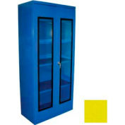 Equipto Additional Shelf for 48 x 24 Quick View Storage Cabinet - Textured Safety Yellow
