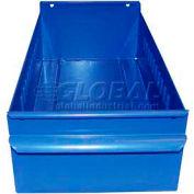 "Equipto Individual Metal Shelf Drawer, 4-1/4""W x 11""D x 3-1/8""H, Textured Regal Blue"