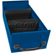 "Equipto Individual Metal Shelf Drawer, 5-5/8""w x 17""D x 3-1/8""H, Textured Regal Blue"